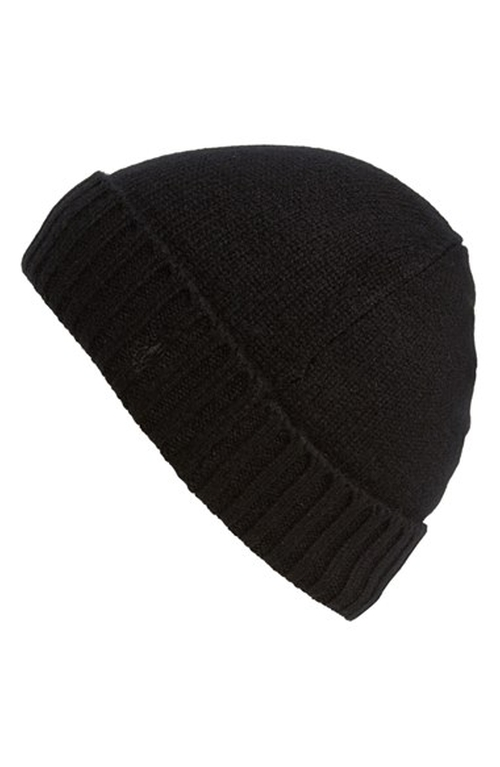 Cashmere & Wool Knit Beanie Hat by Polo Ralph Lauren in Rocky IV