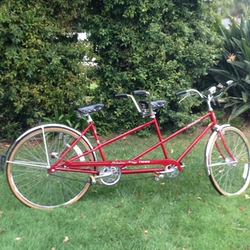Deluxe Tandem Bike by Schwinn Twinn in Flaked