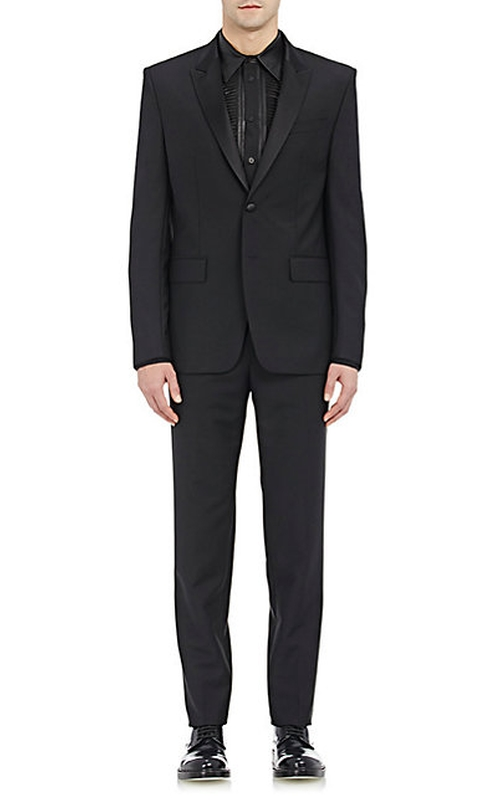 Two-Button Tuxedo Suit by Givenchy in Scandal - Season 5 Episode 18