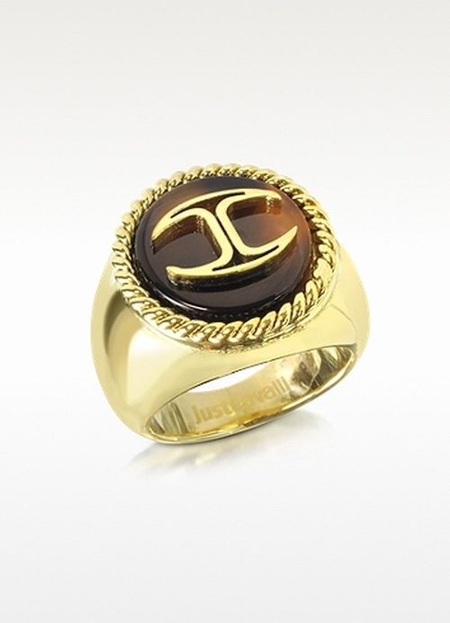Plated Women's Ring by Just Cavalli in Pretty Little Liars - Season 6 Episode 9