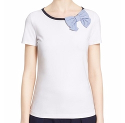 Bow Tee by Kate Spade New York in New Girl