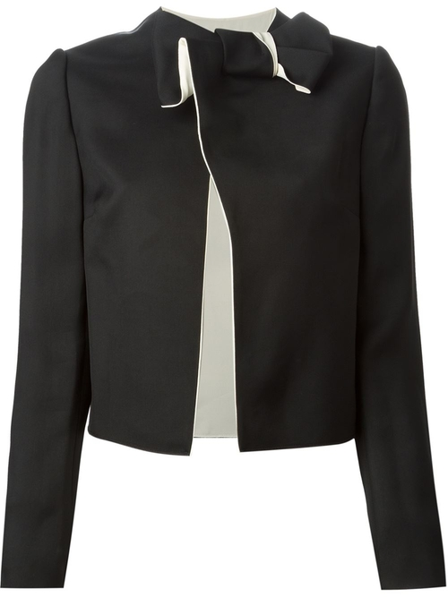 Bow Detail Jacket by Lanvin in Elementary