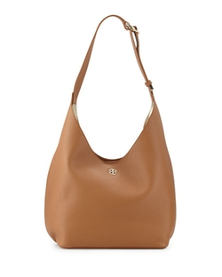 Perry Leather Hobo Bag by Tory Burch in Mistresses