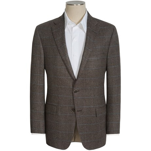 Windowpane Sport Coat by Hickey Freeman in Youth
