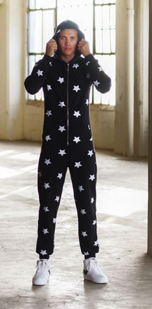 Star Onesie by Arthur George in Keeping Up With The Kardashians - Season 11 Episode 12