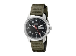 Canvas Strap Watch by Citizen Watches in Whiskey Tango Foxtrot