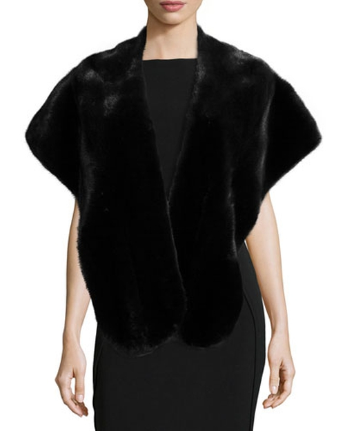 Mink Fur Stole by Gorski in American Horror Story - Season 5 Episode 6