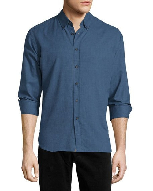 Murphy Long-Sleeve Sport Shirt by Billy Reid in Flaked - Season 1 Preview