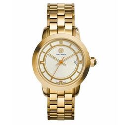 Tory Stainless Steel Bracelet Watch by Tory Burch in Baywatch