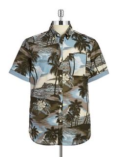 Short Sleeve Sportshirt by 7 Diamonds in The Walk