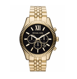 Chronograph Lexington Bracelet Watch by Michael Kors in Animal Kingdom