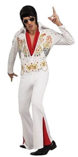 Elvis Now Deluxe Aloha Elvis Costume by Fas Cosplay in Brooklyn Nine-Nine