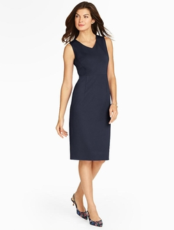 Peek-A-Boo Ponte Sheath Dress by Talbots in Pretty Little Liars