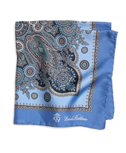 Paisley Pocket Square by Brooks Brothers in Suits