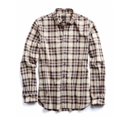 Poplin Button Down Collar Shirt by Todd Snyder in The Ranch