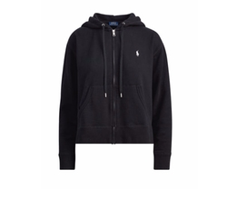 Full Zip Fleece Hoodie by Ralph Lauren in Preacher
