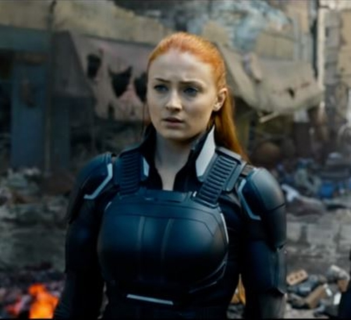 Custom Made Jean Grey Suit by Louise Mingenbach (Costume Designer) in X-Men: Apocalypse
