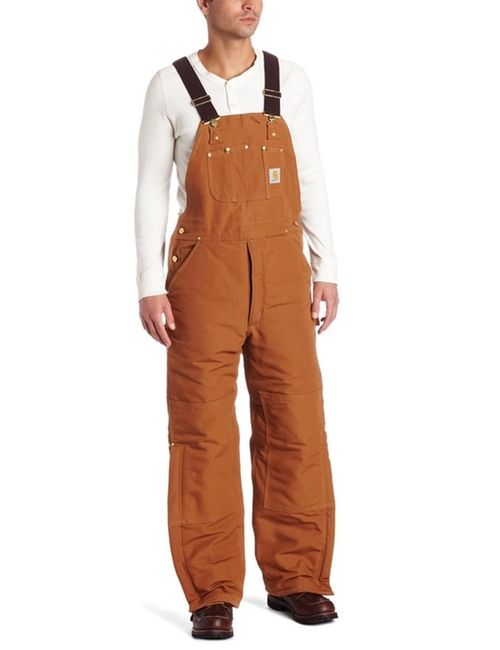 Quilt Lined Duck Bib Overall by Carhartt in Popstar: Never Stop Never Stopping