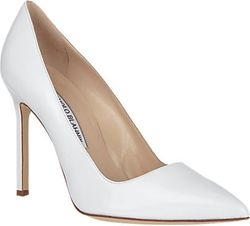 BB Pumps by Manolo Blahnik in Scream Queens