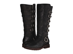 Valerie Belted Tall Boots by Frye in Underworld