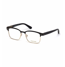 Shiny Metal Square Eyeglasses by Tom Ford in House of Cards