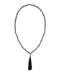 Agate Tassel Necklace by Panacea in Pretty Little Liars