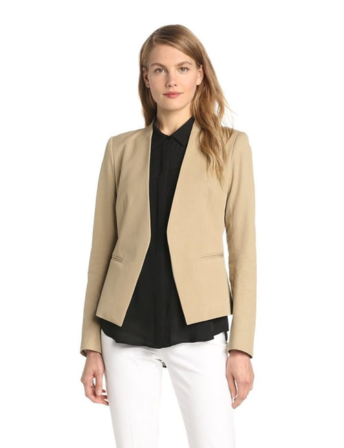 Lanai Bistretch Open Jacket by Theory in Quantico - Season 1 Episode 4