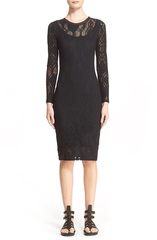 Lace Sheath Dress  by Fuzzi  in Special Correspondents