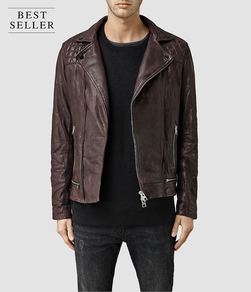 Conroy Leather Biker Jacket by All Saints in The Flash - Season 2 Episode 22