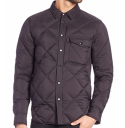 Mallory Quilted Shirt Jacket by Rag & Bone in House of Cards
