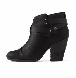 Harrow Leather Ankle Boots by Rag & Bone in Arrow