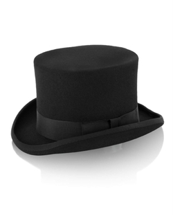 Formal Top Hat by Christys London in Crimson Peak
