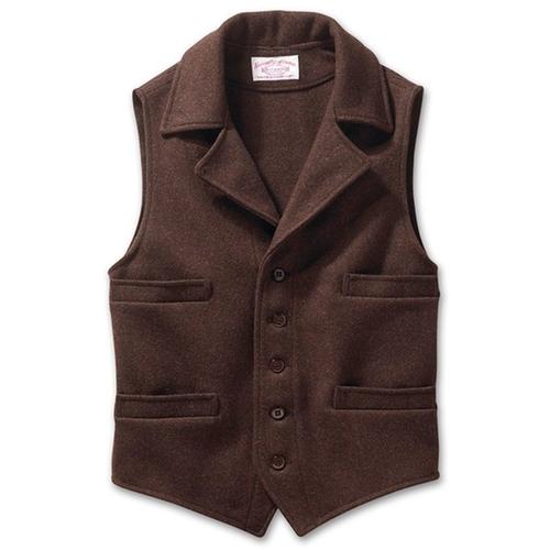 Western Wool Vest by Filson in The Blacklist - Season 3 Episode 14