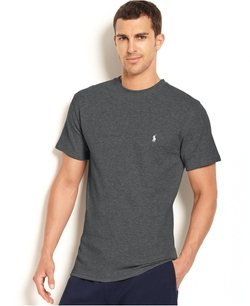 Waffle-Knit Thermal T-Shirt by Polo Ralph Lauren in Ballers