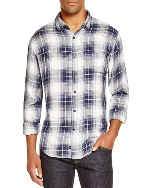Lennox Plaid Regular Fit Button Down Shirt by Rails in Keeping Up With The Kardashians - Season 11 Episode 3