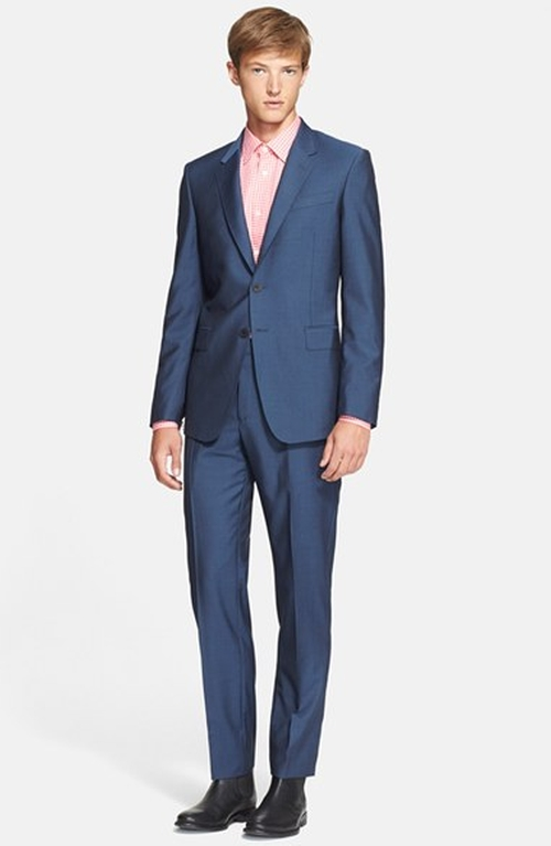 'Byard' Trim Fit Wool & Mohair Suit by Paul Smith London in American Horror Story