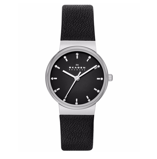 Women's Ancher Leather Strap Watch by Skagen in Guilt - Season 1 Episode 7