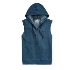 Men's Fleece Full-Zip Hoodie Vest by American Rag in New Girl