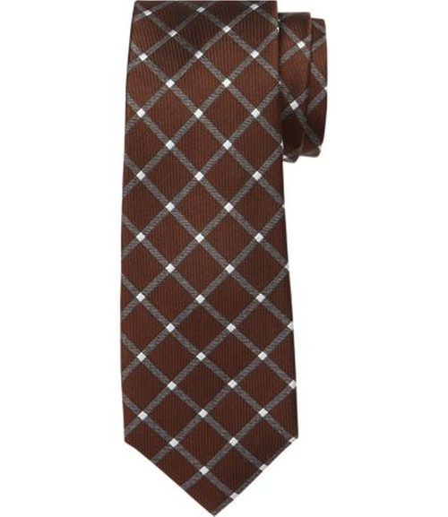 1905 Grid Tie by JoS. A. Bank in The Mindy Project - Season 4 Episode 10
