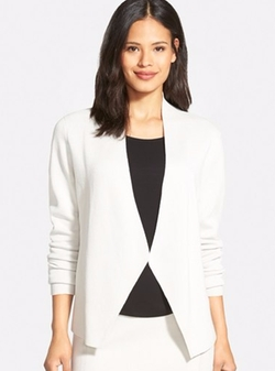 Long Sleeve Sweater Jacket by Eileen Fisher in The Boss