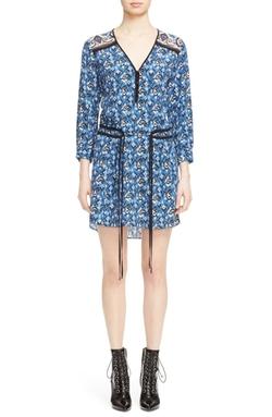 'Venice' V-Neck Dress by Veronica Beard in New Girl