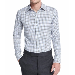 Tattersall Check Dress Shirt by Tom Ford in Scream Queens