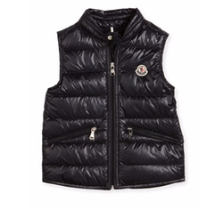 Gui Down Puffer Vest by Moncler in Death Wish