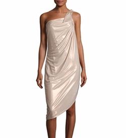 Asymmetric One-Shoulder Metallic Jersey Dress by Halston Heritage$295.00 in Batman v Superman: Dawn of Justice