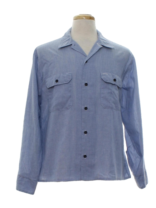 Chambrey Work Shirt by Fieldmaster in Grease