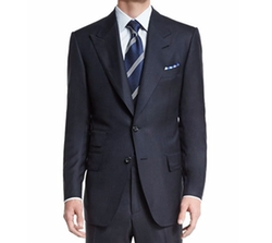 Windsor Base Birdseye Wool Suit by Tom Ford in Suits