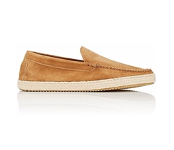Suede Venetian Loafers by Barneys New York in Downsizing