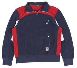 Colorblock Fleece Jacket by Nautica in The Big Bang Theory