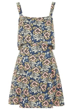 Floral Print Dress by Topshop in Jurassic World