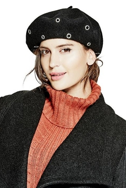 Embellished Beret Hat by Guess in Empire